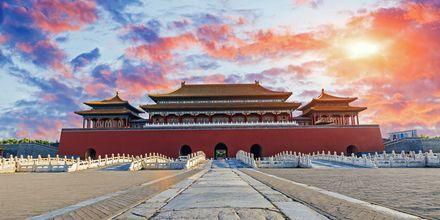 Den Forbudte By i Beijing er et gammelt kejserpalads.