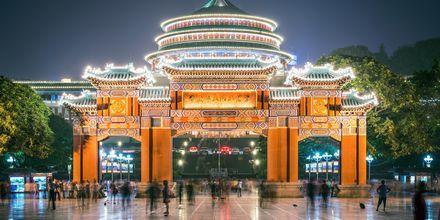 Folkets Store Hal er en kendt seværdighed i Beijing.