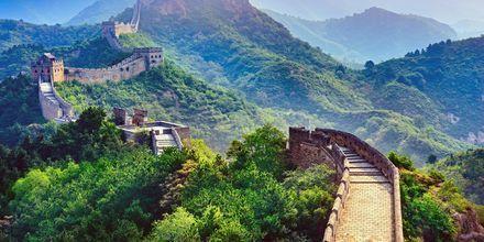 Beijing er mest kendt for sine kinesiske mur, 6.350 km lang.