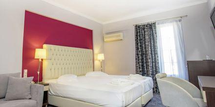 Deluxe-værelse på Hotel Bel Air på Lefkas, Grækenland.
