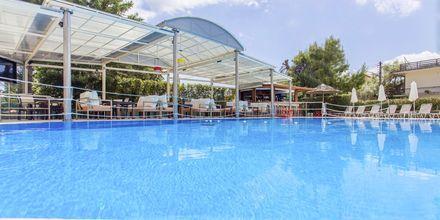 Poolområdet på Hotel Bel Air på Lefkas, Grækenland.