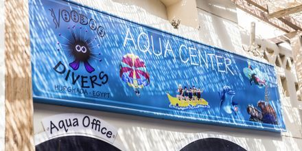 Aquacenter på hotel Bella Vista i Hurghada, Egypten