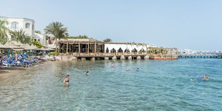 Krystalklart vand på hotel Bella Vista i Hurghada, Egypten