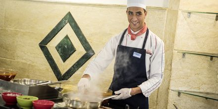 Restaurant på hotel Bella Vista i Hurghada, Egypten