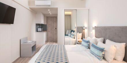 Renoveret 1-værelses lejlighed på hotel Bio i Rethymnon by på Kreta.
