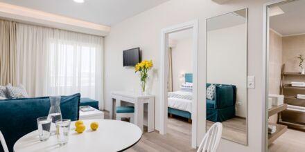 Renoveret 2-værelses lejlighed på hotel Bio i Rethymnon by på Kreta.