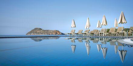 Pool på hotel Blue Dome i Platanias, Kreta