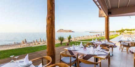 Restaurant på Hotel Blue Dome i Platanias, Kreta