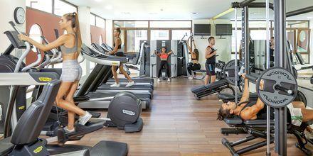 Fitness på Blue Lagoon Resort på Kos, Grækenland