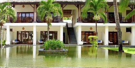 Superior-værelse på Hotel Blue Ocean Resort i Phan Thiet i Vietnam.