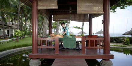 Spa på Hotel Blue Ocean Resort i Phan Thiet i Vietnam.