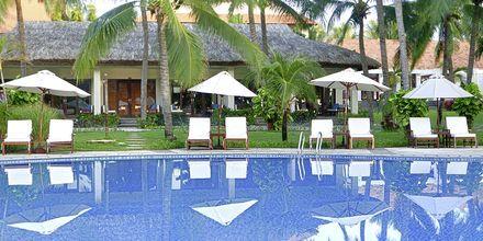 Pool på Hotel Blue Ocean Resort i Phan Thiet i Vietnam.