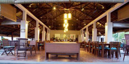 Restaurant på Hotel Blue Ocean Resort i Vietnam.