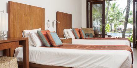 Dobbeltværelse i bungalow på Hotel Blue Ocean i Vietnam.