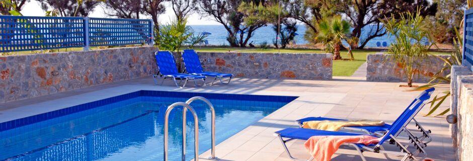 Hotel Blue Sea Villas i Platanias, Kreta