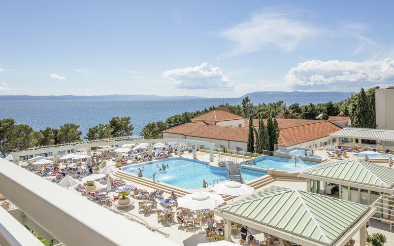 Hotel Bluesun Alga i Tucepi, Kroatien