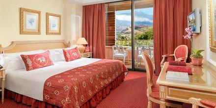 Dobbeltværelse på hotel Botanico i Puerto de la Cruz, Tenerife.