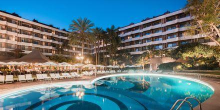 Poolområde på hotel Botanico i Puerto de la Cruz, Tenerife.