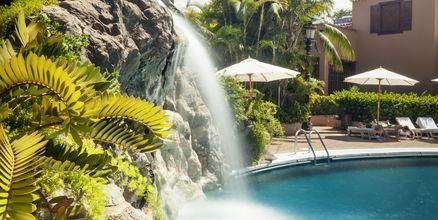 Spa-pool på Hotel Botanico i Puerto de la Cruz på Tenerife, De Kanariske Øer.