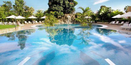 Poolen som tilhører spaområdet på hotel Botanico i Puerto de la Cruz, Tenerife.