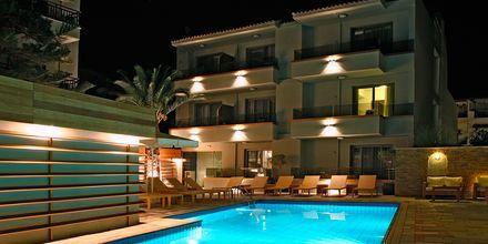 Poolen på hotel Bourtzi i Skiathos by, Grækenland.