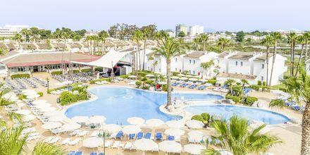 Poolområde på Hotel BQ Alcudia Sunvillage på Mallorca, Spanien