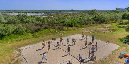 Beach volley på hotel BQ Alcudia Sunvillage på Mallorca, Spanien