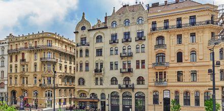 Smukke huse i Ungarns hovedstad - Budapest.