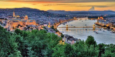 Budapest, Ungarn - en af Europas hedeste storbyer.