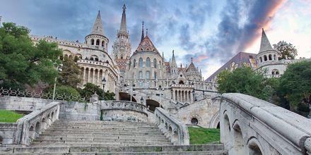 Fiskerbastionen i Budapest, Ungarn.