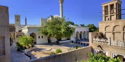 Bastakia i Bur Dubai, De Forenede Arabiske Emirater.