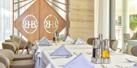Restaurant på Hotel Butrinti i Saranda, Albanien.