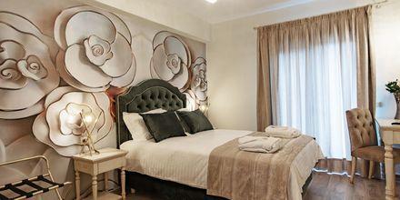 Deluxe-værelse på Hotel Byzantion i Parga, Grækenland.
