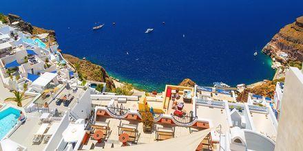 Fantastisk udsigt på Santorini, Grækenland.