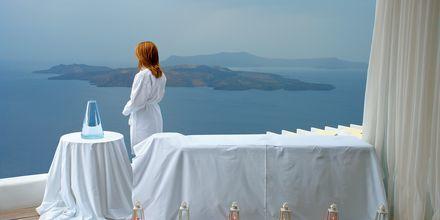 Spa på Hotel Caldera's Lilium på Santorini, Grækenland.