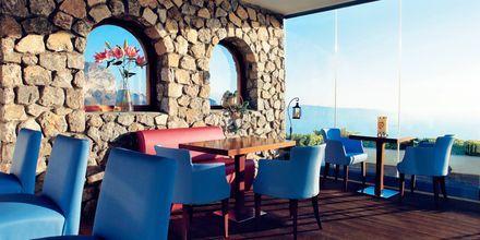 Restaurant på Hotel Caldera's Lilium på Santorini, Grækenland.
