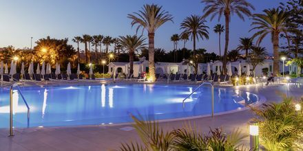 Poolområde på Hotel Canary Garden Club i Maspalomas på Gran Canaria.