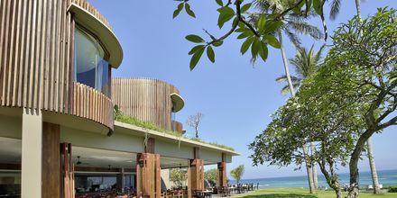Restaurant på Candi Beach Resort & Spa, Bali