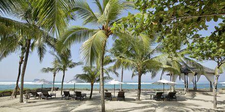 Stranden ved hotel Candi Beach Resort & Spa, Candi Dasi, Bali