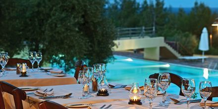 Restaurant Agapi på Hotel Candia Park Village på Kreta, Grækenland.