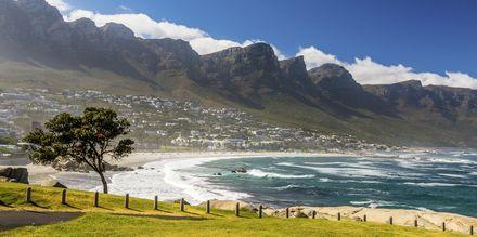 Cape Town i Sydafrika lokker med hvide strande, varme temperaturer og smuk natur.