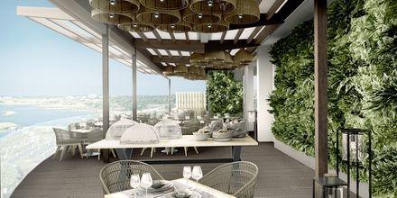 Den italienske restaurant Cucina på hotel Capo Bay i Fig Tree Bay, Cypern