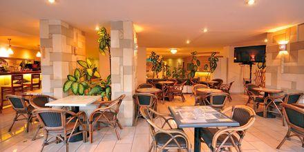 Bar på Hotel Carina i Rhodos by på Rhodos, Grækenland.