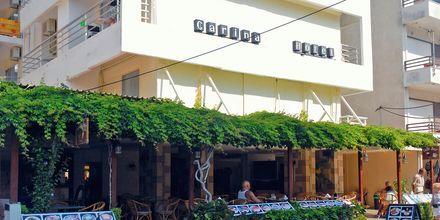 Hotel Carina i Rhodos by på Rhodos, Grækenland.