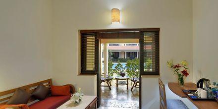Deluxe-værelse på Casa de Goa, Goa i Indien.