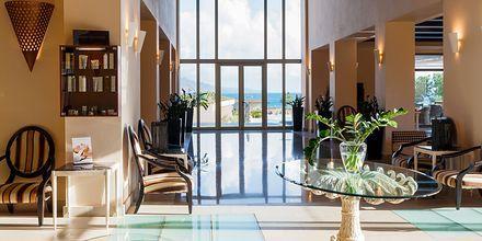 Lobby på Giannoulis Cavo Spada Deluxe & Spa på Kreta, Grækenland.