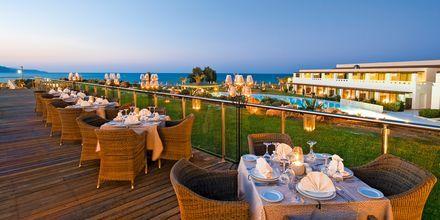 Restaurant på Giannoulis Cavo Spada Deluxe & Spa på Kreta, Grækenland.