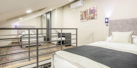 3-værelses lejlighed i etage på Hotel Central Beach 9 i Makarska, Kroatien.