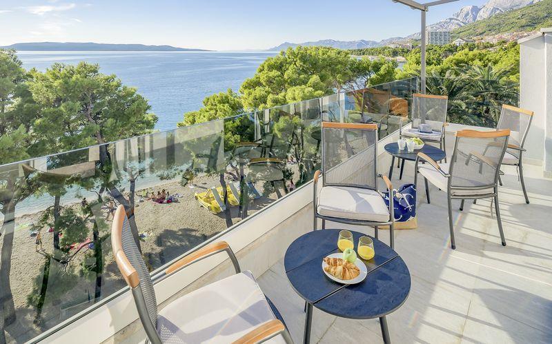 Hotel Central Beach 9 i Makarska, Kroatien.