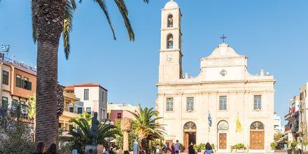 Kirken i Chania by på Kreta, Grækenland.